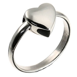 Heart of Love Silver Ring