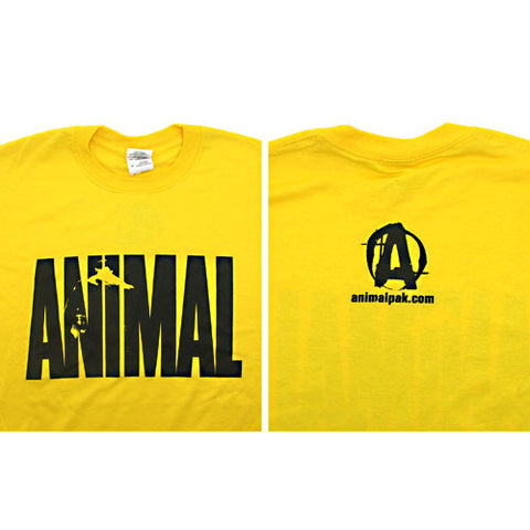 Universal Nutrition Animal Pak T-Shirt (Yellow)
