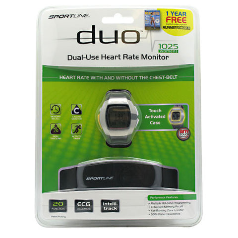 Sportline Duo 1025 Heart Rate Monitor (Women's)