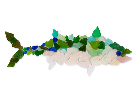 Bonita Sea Glass Fish