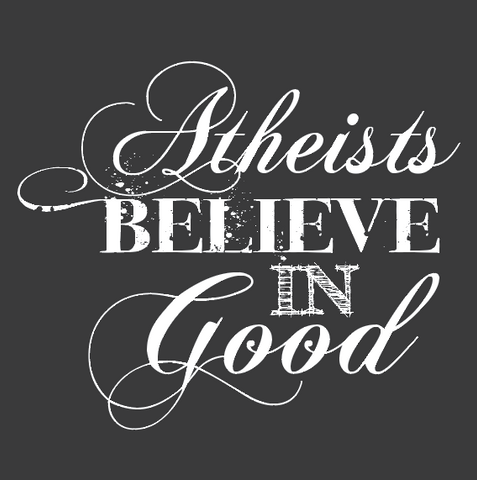 Atheists Believe in Good Print
