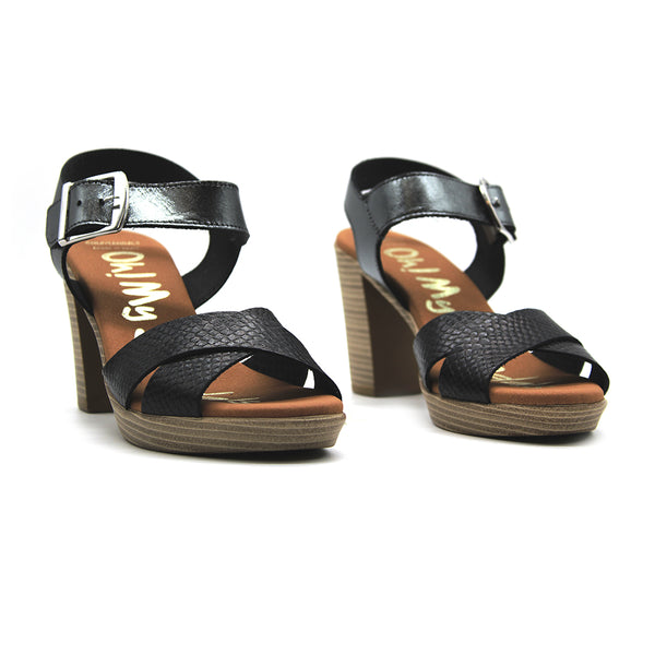 Sandalia cruz print 4729 Oh my Sandals