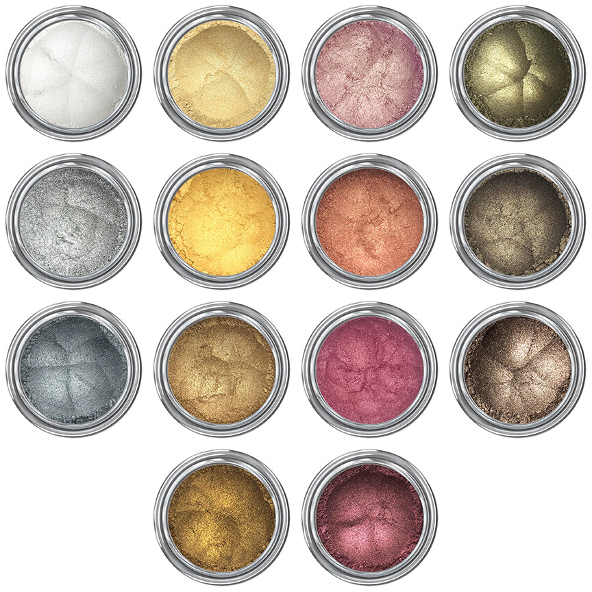 I Want It All -  Metallic Eyeshadows
