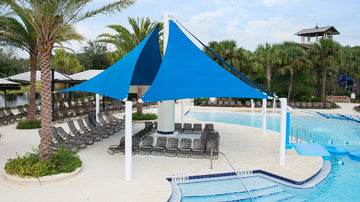 Quad Sail Shade Structure