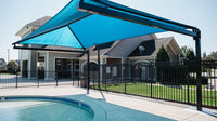 Hanging Cantilever Shade - The Sun Shade Company
