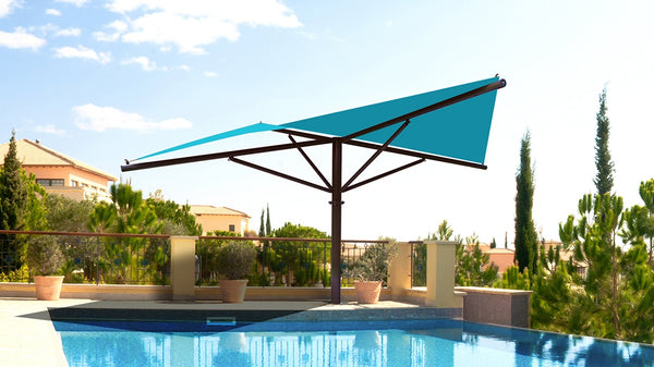 Square Hypar Umbrella Shade - The Sun Shade Company