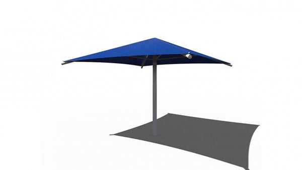 Square Umbrella Shade - The Sun Shade Company