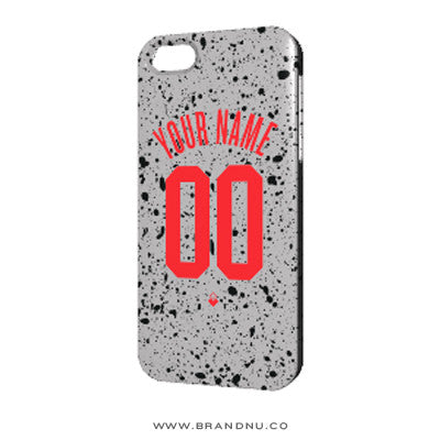 Your Name. Your Number. - iPhone 5/5s Case - Concrete