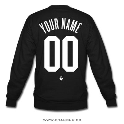 Your Name & Number - Unisex Crewneck