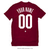 Your Name & Number - Men's T-shirt