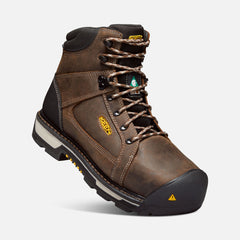 "Keen Utility men's Oakland 6"" 1020082 C.S.A bison/black"
