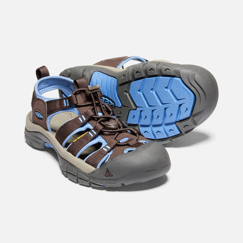 Keen women's Newport H2 1020307 mulch/quiet harbor