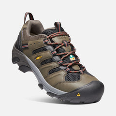 Keen Utility men's CSA Lansing (steel toe) 1021331 black olive/burnt henna