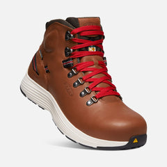 "Keen Utility men's CSA Manchester 6"" WP (aluminum toe) 1021333 rustic brown/cascade brown SIZE 9.5"