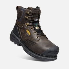 "Keen Utility men's Philadelphia 6"" C.SA Internal Met 1022088 cascade brown/black"