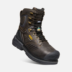 "Keen men's Philadelphia 8"" Internal Met 1022091 C.S.A cascade brown/black"