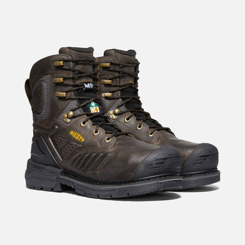 "Keen men's Philadelphia 8"" Internal Met 1022091 C.S.A cascade brown/black SIZE 10"