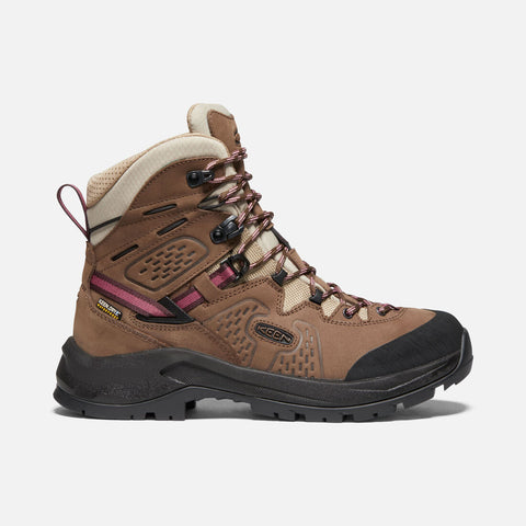 Keen women's Karraig Mid Waterproof 1022181 chestnut/nostalgia rose