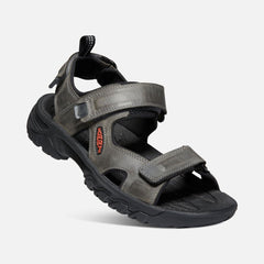Keen men's Targhee III Open Toe Sandal 1022424 grey/black