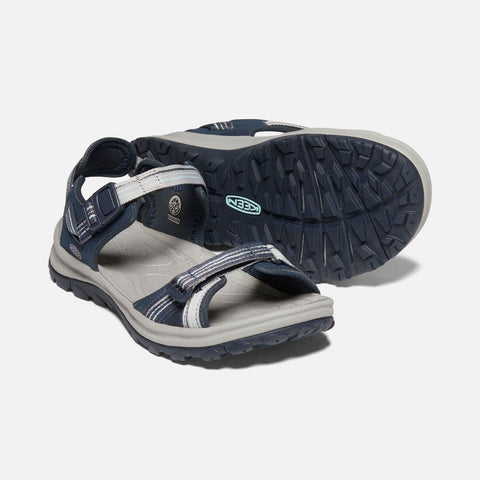 Keen women's Terradora II Open Toe Sandal 1022449 navy/light blue