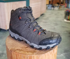 Oboz men's Bridger Mid Waterproof 22101 R RW raven REGULAR & WIDE WIDTH