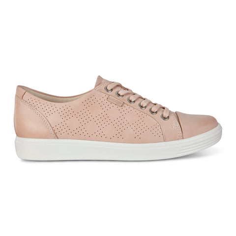 Ecco women's 430833-02118 Ecco Soft 7 W Perf Tie rose dust SIZE 35, 38, 41