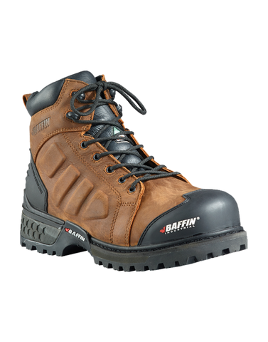 "Baffin men's Monster 6"" C.S.A MNST-MP02 BR1 SIZE 9.5, 14"