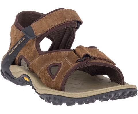 Merrell men's Kahuna 4 Strap J033667 brown