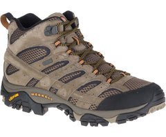 Merrell men's Moab 2 Mid Waterproof J598373 walnut