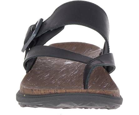 Merrell women's Around Town Luxe Buckle Thong J90600 black SIZE 6, 11