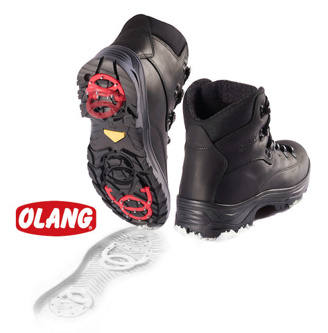 Olang men's Alabama OC system thinsulate nero black SIZE 43