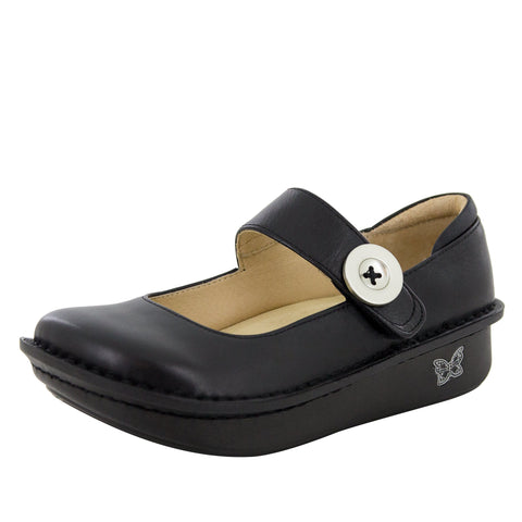 Alegria women's Paloma Black Nappa Mary Jane PAL-601 SIZE 38