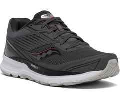Saucony women's Echelon 8 Regular (S10574-55) charcoal/cherry