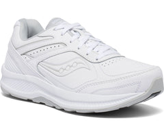 Saucony women's Echelon Walker 3 Medium, and Wide (S50200-1, S50201-1) white
