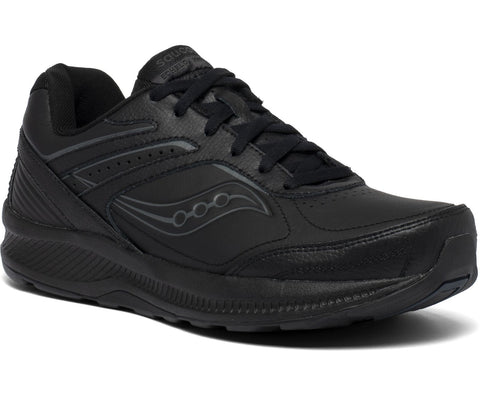 Saucony women's Echelon Walker 3 Medium, and Wide (S50200-2, S50201-2) black