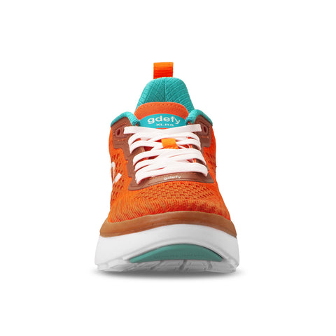 Gravity Defyer gdefy women's XLR8 Running Shoes TB9034FOW MED orange blue