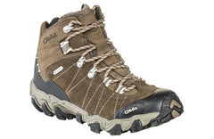 Oboz women's Bridger Mid Wide Waterproof 22102 walnut SIZE 6.5, 7.5