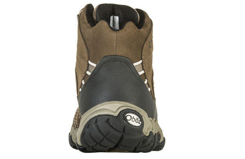Oboz women's Bridger Mid Wide Waterproof 22102 walnut