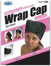 Dream Deluxe Open Top Wrap Cap with Foam Lined
