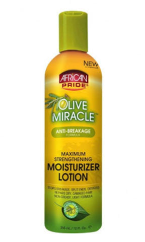 African Pride Olive Miracle Anti-Breakage Formula Leave-In-Conditioner (12 fl oz.)