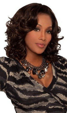 Vivica Fox Deep Lace Front Synthetic Wig Tonetta