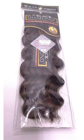Black Diamond Human Hair Weaving Deep Wave