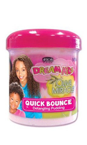 African Pride Dream Kids Olive Miracle  Quick Bounce Detangling Pudding (15 oz.)