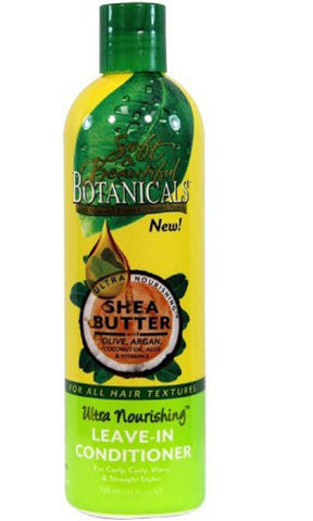 Soft & Beautiful Botanicals Shea Butter Ultra Nourishing Leave In Conditioner (12 fl oz.)