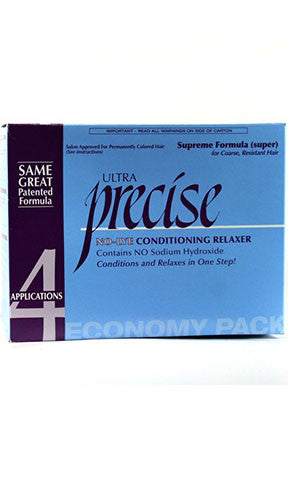 Ultra Precise No Lye Conditioning Relaxer Economy Pack (4 Applications)