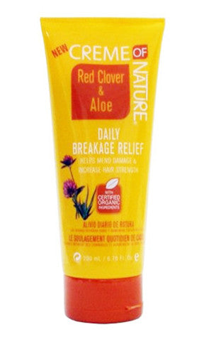 Creme of Nature Red Clover & Aloe Daily Breakage Relief (6.76 oz.)