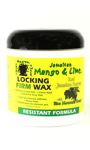 Jamaican Mango and Lime Locking Firm Wax Resistant Formula