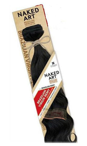 Shake N Go NAKED ART BRAZILIAN VIRGIN REMY Weaving Human Hair