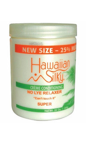 Hawaiian Silky Creme Conditioning No Lye Relaxer Super