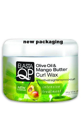 Elasta QP Oil & Mango Butter Curl Wax (5.0 oz.)